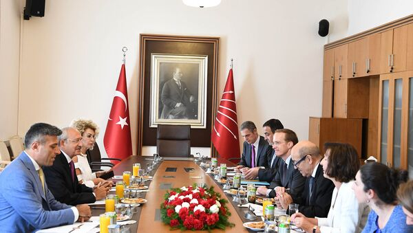 Kılıçdaroğlu, Fransa Dışişleri Bakanı Le Drian görüştü - Sputnik Türkiye