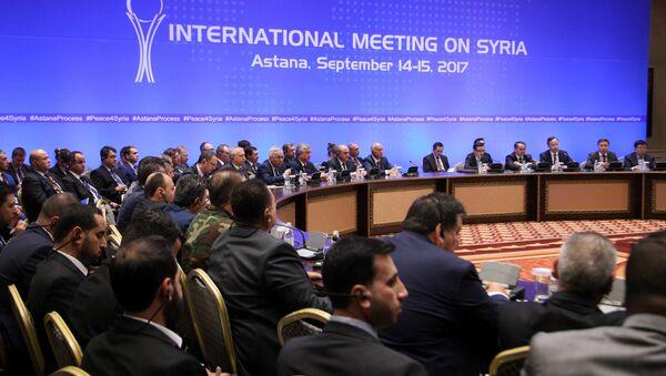 Astana görüşmeleri, 6. tur - Sputnik Türkiye