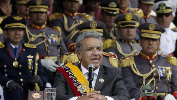 Ekvador Devlet Başkanı Lenin Moreno - Sputnik Türkiye