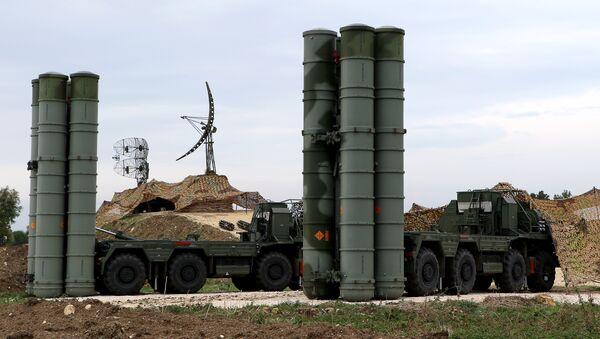 S-400- Hmeymim - Sputnik Türkiye