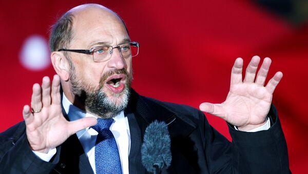 Alman Sosyal Demokrat Partisi lideri Martin Schulz - Sputnik Türkiye