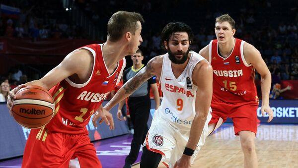2017 Avrupa Basketbol Şampiyonası Rusya-İspanya - Sputnik Türkiye