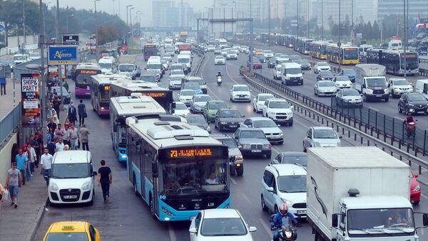 Trafik - İstanbul - Sputnik Türkiye