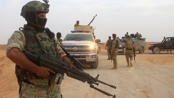 Irak ordusu, Anbar - Sputnik Türkiye