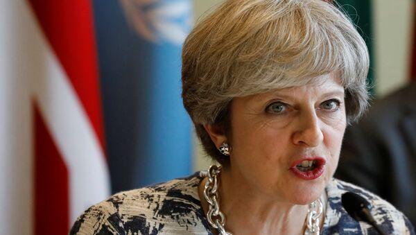 Theresa May - Sputnik Türkiye