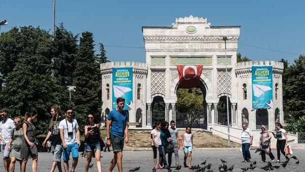 Türk gençler - öğrenci - sınav - üniversite - İstanbul Üniversitesi - Sputnik Türkiye