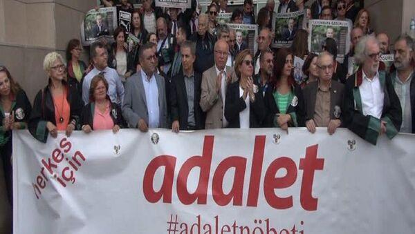 25. 'Adalet Nöbeti'nden - Sputnik Türkiye