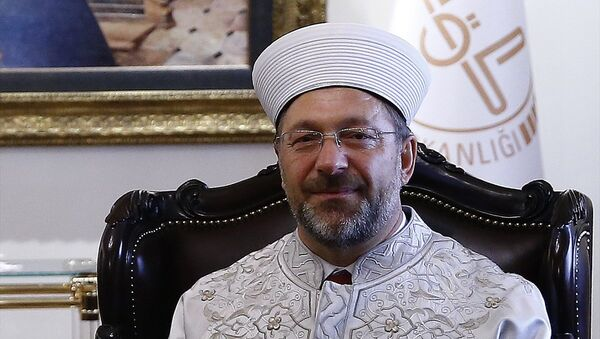 Diyanet İşleri Başkanlığı görevine atanan Prof. Dr. Ali Erbaş - Sputnik Türkiye
