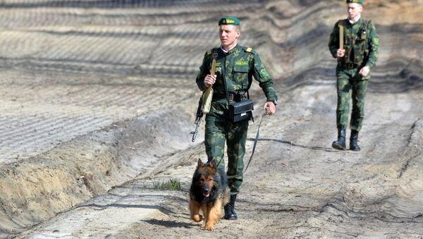 Ukrayna- sınır güvenlik birimleri-köpek - Sputnik Türkiye