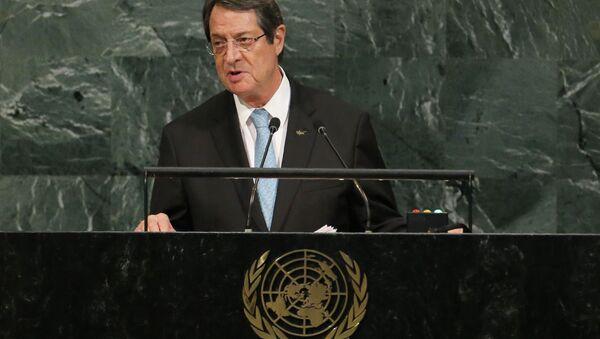 Kıbrıs Cumhurbaşkanı  Nikos Anastasiadis - Sputnik Türkiye
