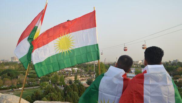 Erbil-Referandum-Kutlama - Sputnik Türkiye