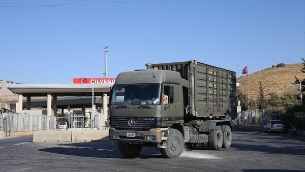 Cilvegözü'nde askeri hareketlilik - Sputnik Türkiye
