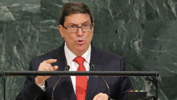 Küba Dışişleri Bakanı Eduardo Rodriguez Parrilla - Sputnik Türkiye
