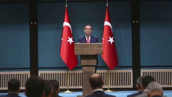 Hükümet Sözcüsü Bekir Bozdağ - Sputnik Türkiye