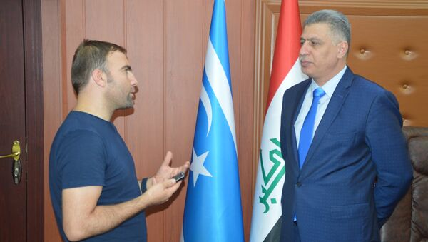 Irak Türkmen Cephesi-Erşat Salihi - Sputnik Türkiye