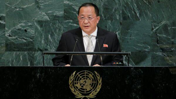 Kuzey Kore Dışişleri Bakanı Ri Yong-ho - Sputnik Türkiye