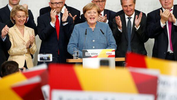 Almanya Başbakanı Angela Merkel - Sputnik Türkiye