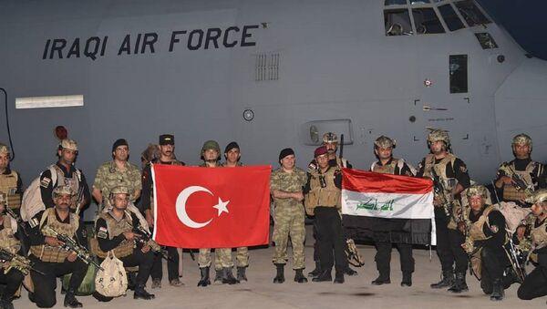 TSK ile Irak ordusundan ortak tatbikat - Sputnik Türkiye