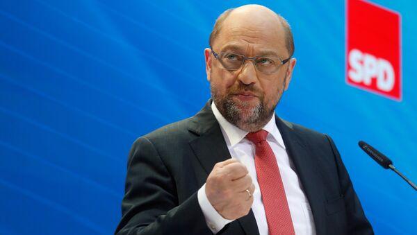 Martin Schulz - Sputnik Türkiye