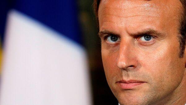 Fransa Cumhurbşakanı Emmanuel Macron - Sputnik Türkiye