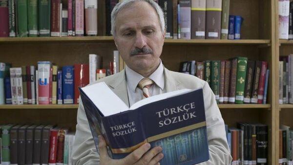 Türk Dil Kurumu Başkanı Prof. Dr. Mustafa Sinan Kaçalin - Sputnik Türkiye