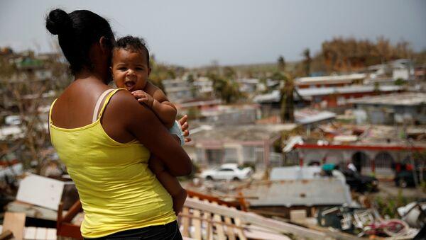 Maria kasırgasının ardından Porto Riko - Sputnik Türkiye