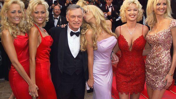 Playboy kurucusu Hugh Hefner - Sputnik Türkiye
