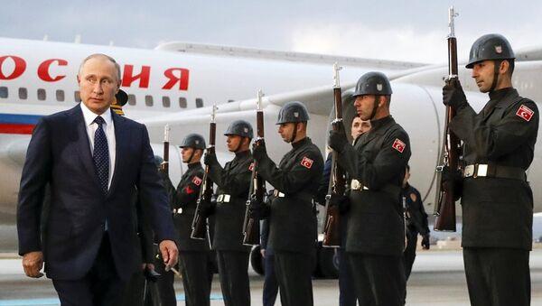 Rusya Devlet Başkanı Vladimir Putin, Türkiye'de - Sputnik Türkiye