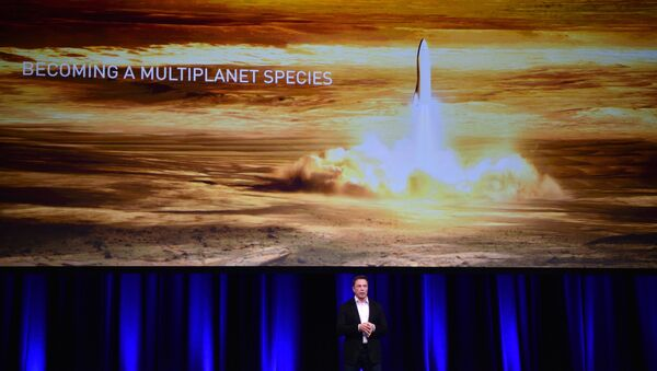 Elon Musk, gezegenler arası ulaşım sistemini tanıttı. - Sputnik Türkiye