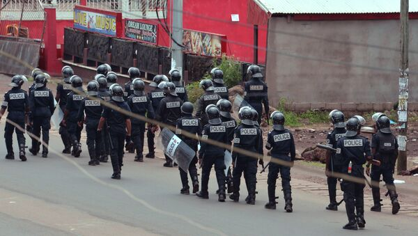 Kamerun polisi - Sputnik Türkiye