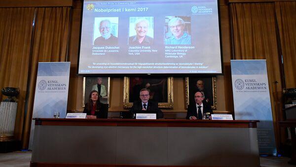2017 Nobel Kimya Ödülü - Sputnik Türkiye