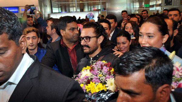 Bollywood yıldızı Aamir Khan İstanbul'da - Sputnik Türkiye