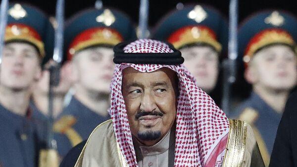 Suudi Arabistan Kralı Selman bin Abdülaziz Moskova'da - Sputnik Türkiye