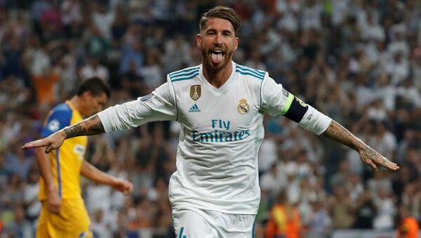 Real Madrid kaptanı Sergio Ramos - Sputnik Türkiye