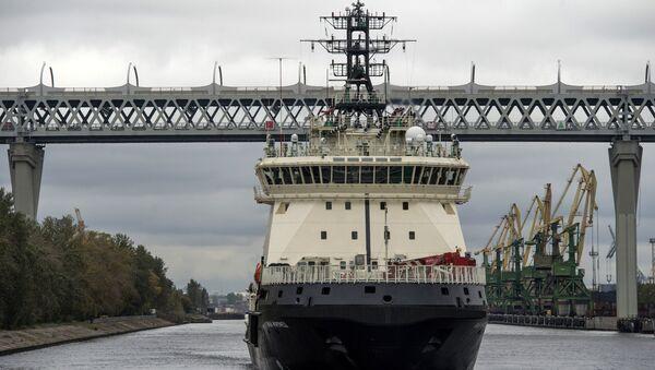 Yeni nesil buzkıran gemisi İlya Muromets - Sputnik Türkiye