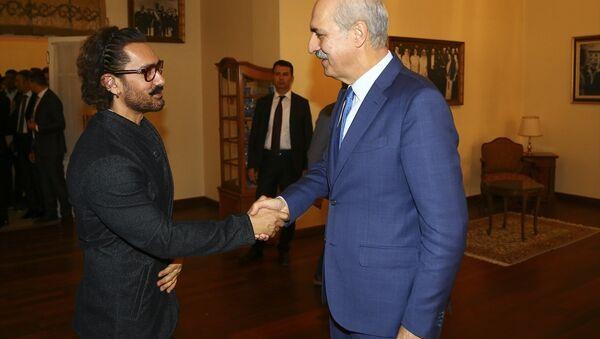 Numan Kurtulmuş ve Aamir Khan - Sputnik Türkiye