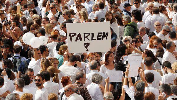 Katalonya - Referandum - Sputnik Türkiye