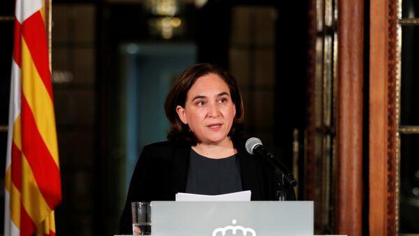Barcelona Belediye Başkanı Ada Colau - Sputnik Türkiye