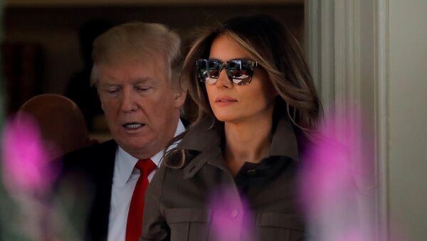 ABD'nin First Lady'si Melania Trump - Sputnik Türkiye