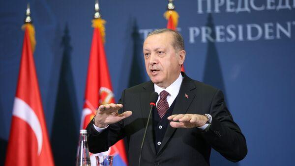 Cumhurbaşkanı Recep Tayyip Erdoğan, Sırbistan'da - Sputnik Türkiye