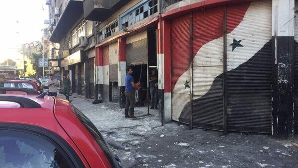 Şam'da art arda patlamalar - Sputnik Türkiye