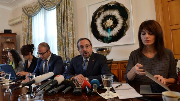 ABD Büyükelçisi John Bass - Sputnik Türkiye
