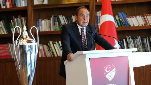 Türkiye Futbol Federasyonu (TFF) Başkanı Yıldırım Demirören - Sputnik Türkiye