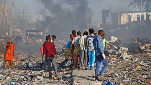 Somali'de saldırı - Sputnik Türkiye