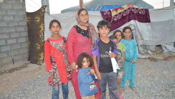 Irak'taki mülteciler: Artık savaş olmasın - Sputnik Türkiye