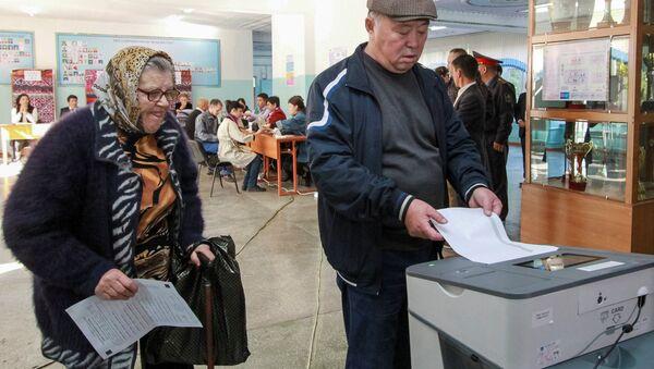 Kırgızistan - Devlet başkanlığı seçimleri - Sputnik Türkiye