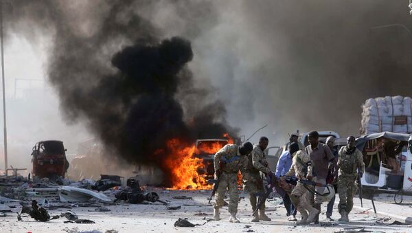 Mogadişu - Saldırı - 14.11.17 - Sputnik Türkiye