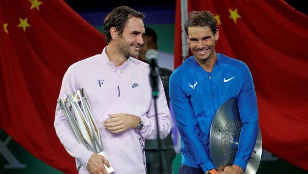 Rafael Nadal - Roger Federer - Sputnik Türkiye