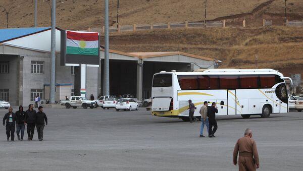 İran ile IKBY arasındaki Hacı Omeran Sınır Kapısı - Sputnik Türkiye