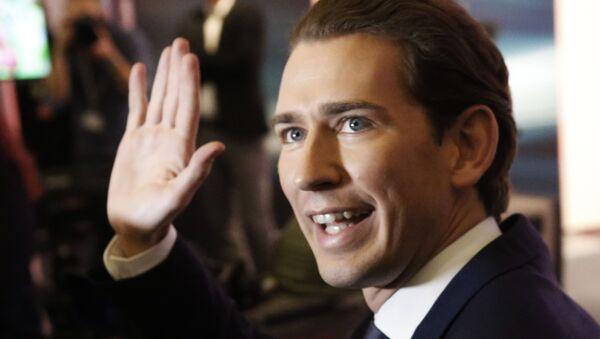 Merkez sağ Avusturya Halk Partisi lideri Dışişleri ve Entegrasyon Bakanı Sebastian Kurz - Sputnik Türkiye